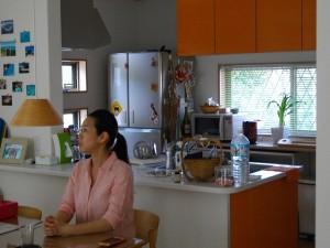 オレンジのキッチン♪