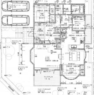 注文住宅 吉永の家 図面
